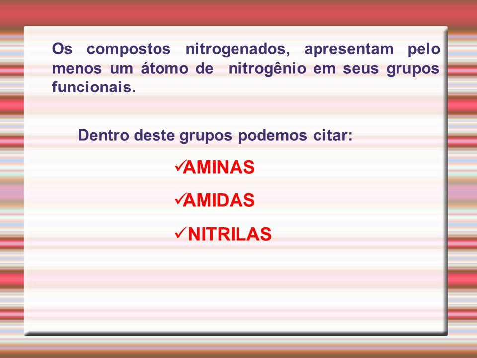 AMINAS AMIDAS NITRILAS