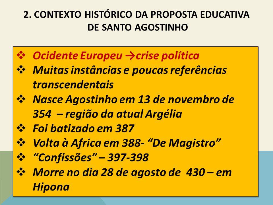 2. CONTEXTO HISTÓRICO DA PROPOSTA EDUCATIVA