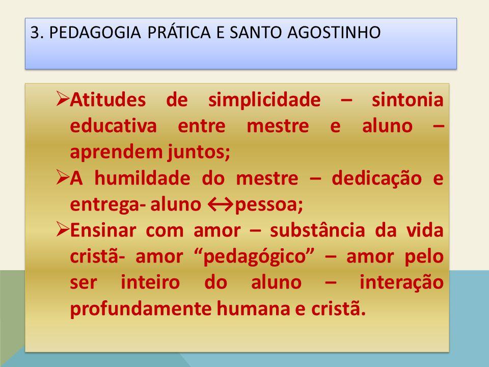 A humildade do mestre – dedicação e entrega- aluno ↔pessoa;