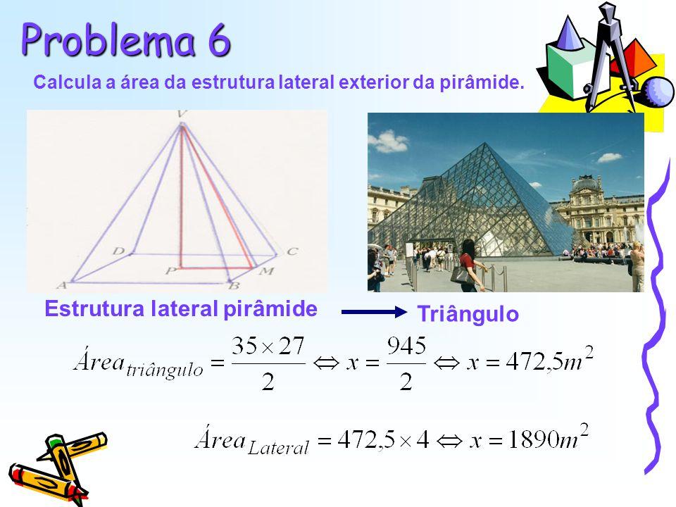Estrutura lateral pirâmide