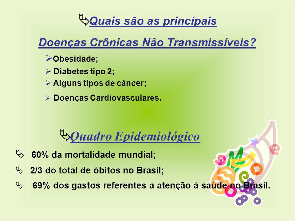 Quais são as principais Doenças Crônicas Não Transmissíveis