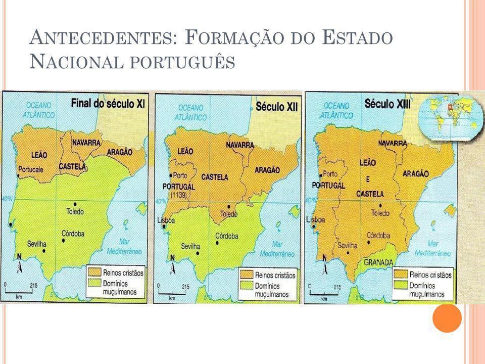 Antecedentes: Formação do Estado Nacional português