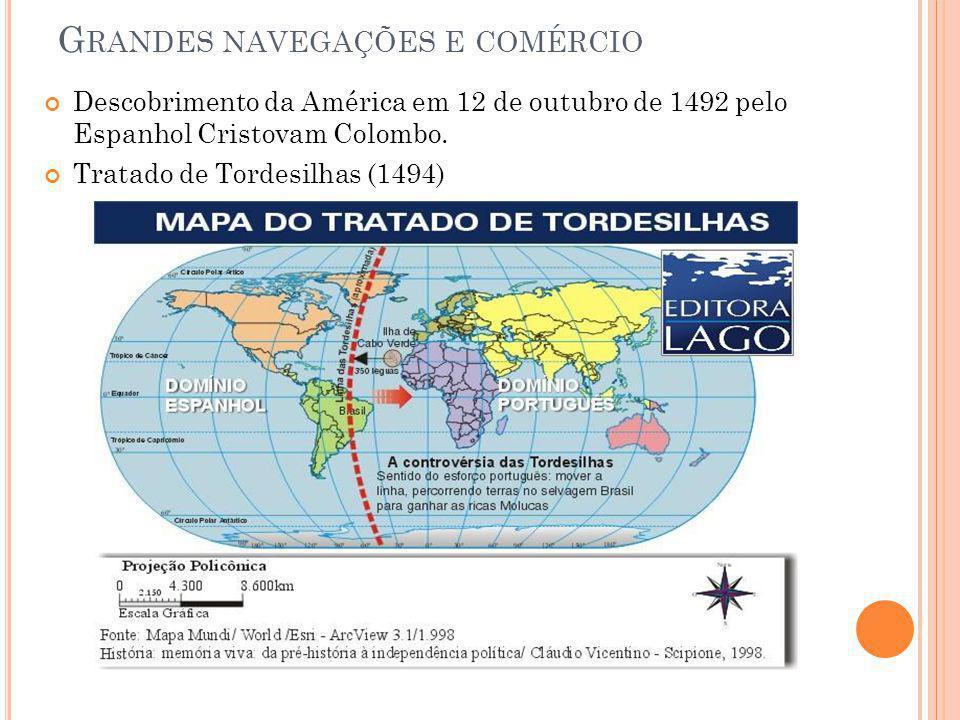 Grandes navegações e comércio