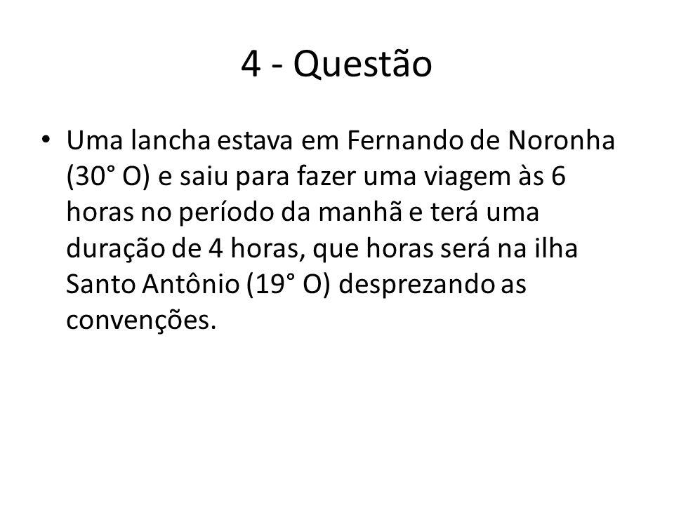 4 - Questão