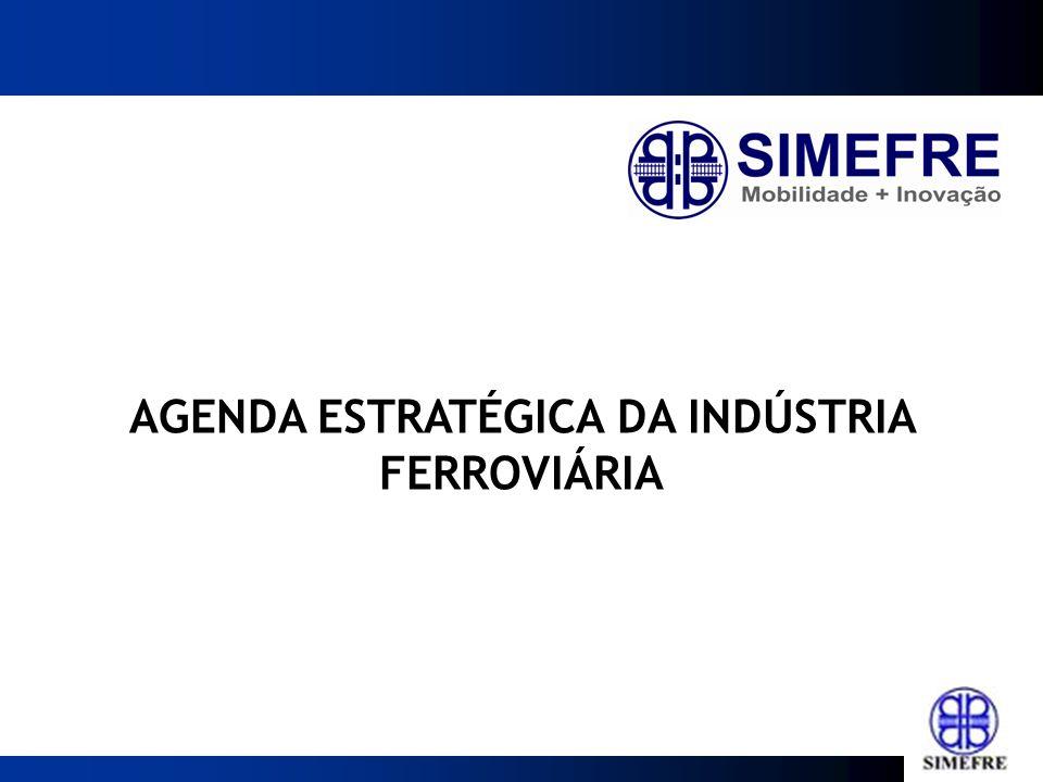 AGENDA ESTRATÉGICA DA INDÚSTRIA FERROVIÁRIA