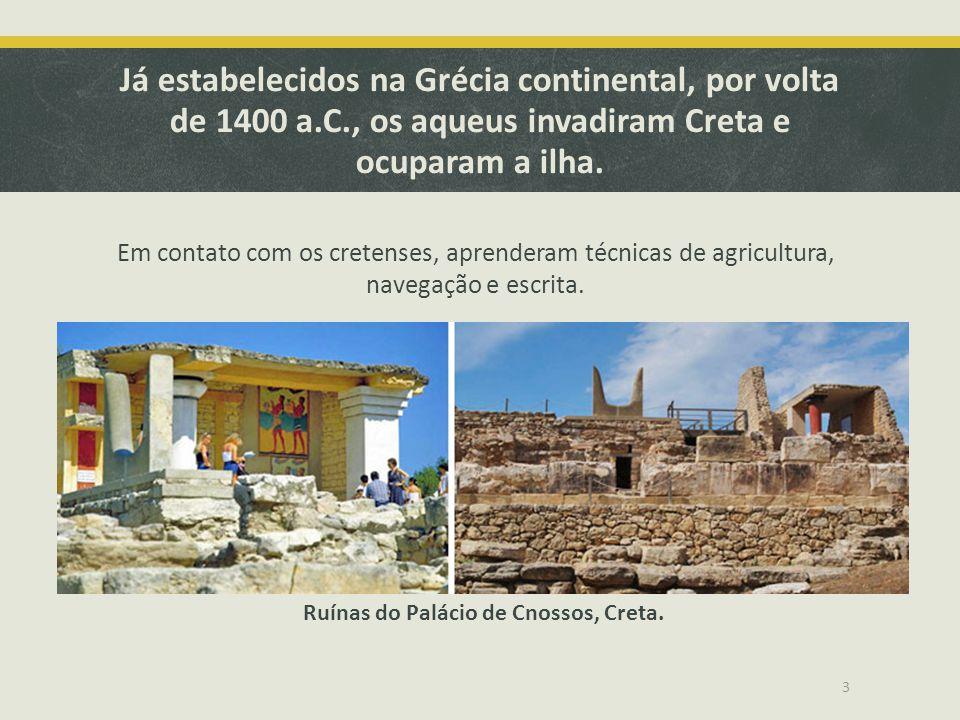 Ruínas do Palácio de Cnossos, Creta.