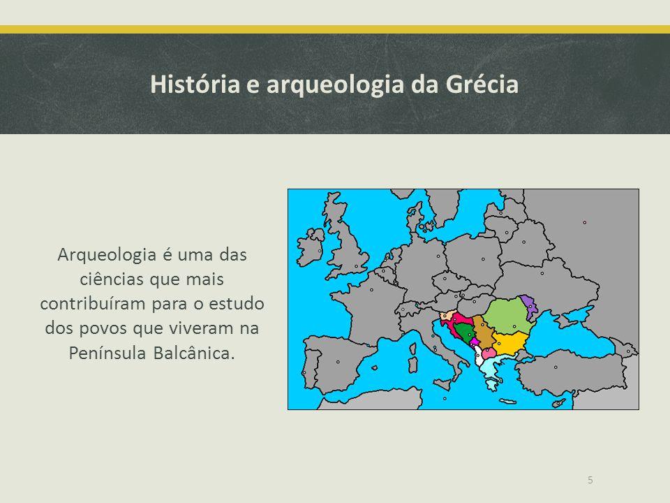 História e arqueologia da Grécia