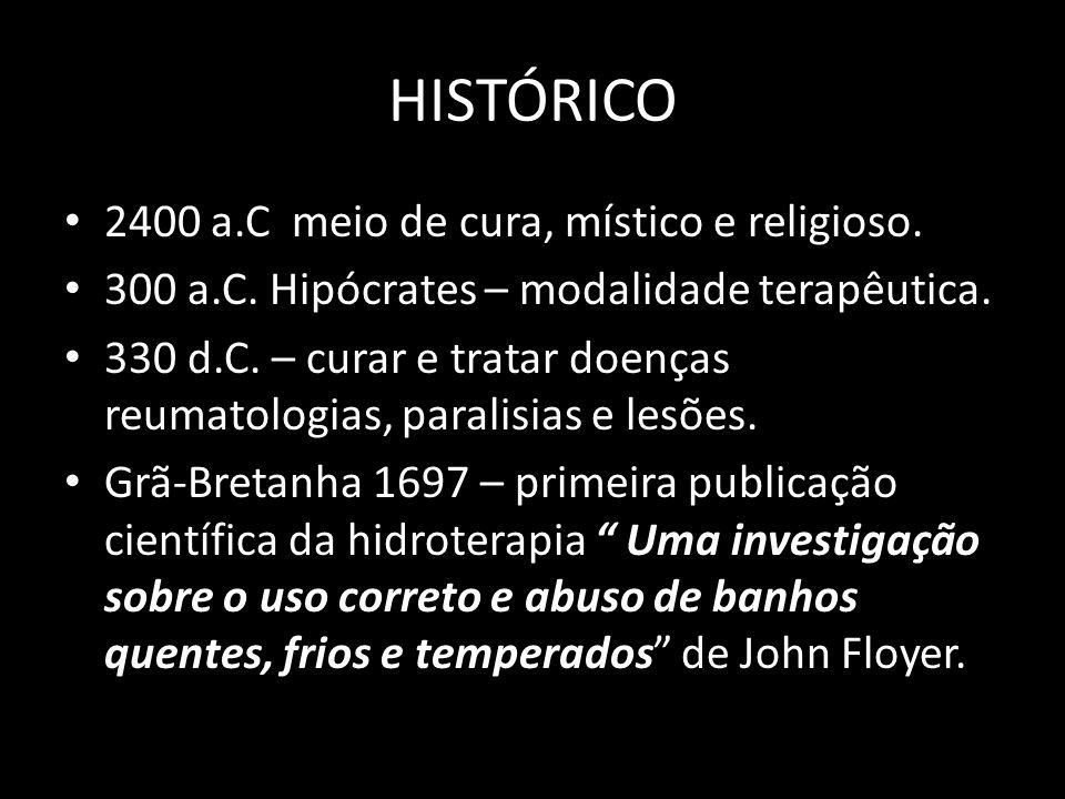 HISTÓRICO 2400 a.C meio de cura, místico e religioso.