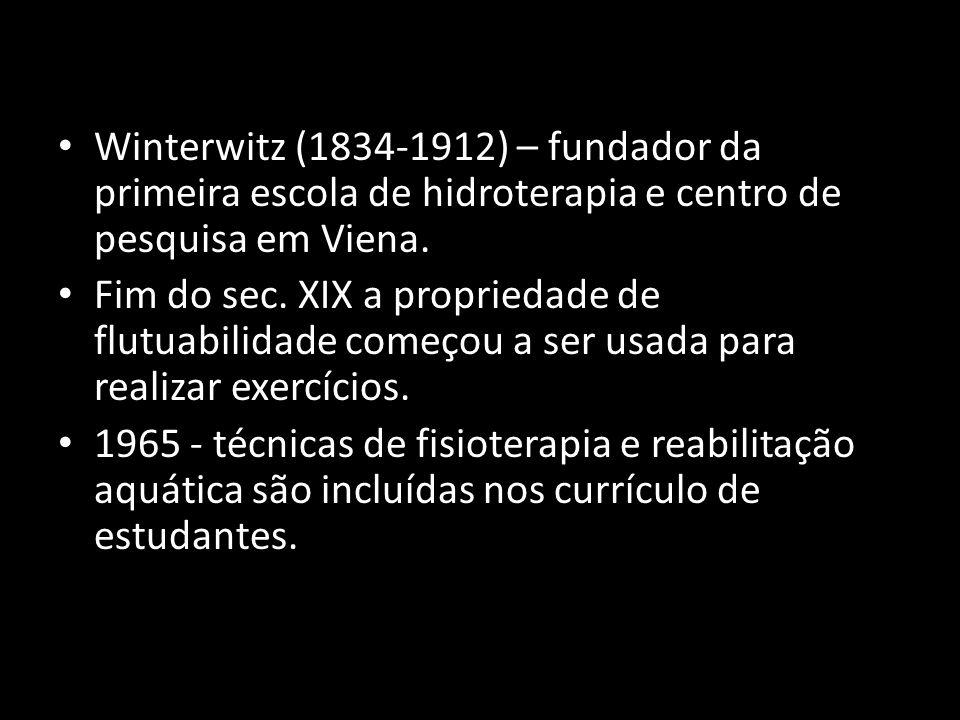 Winterwitz (1834-1912) – fundador da primeira escola de hidroterapia e centro de pesquisa em Viena.