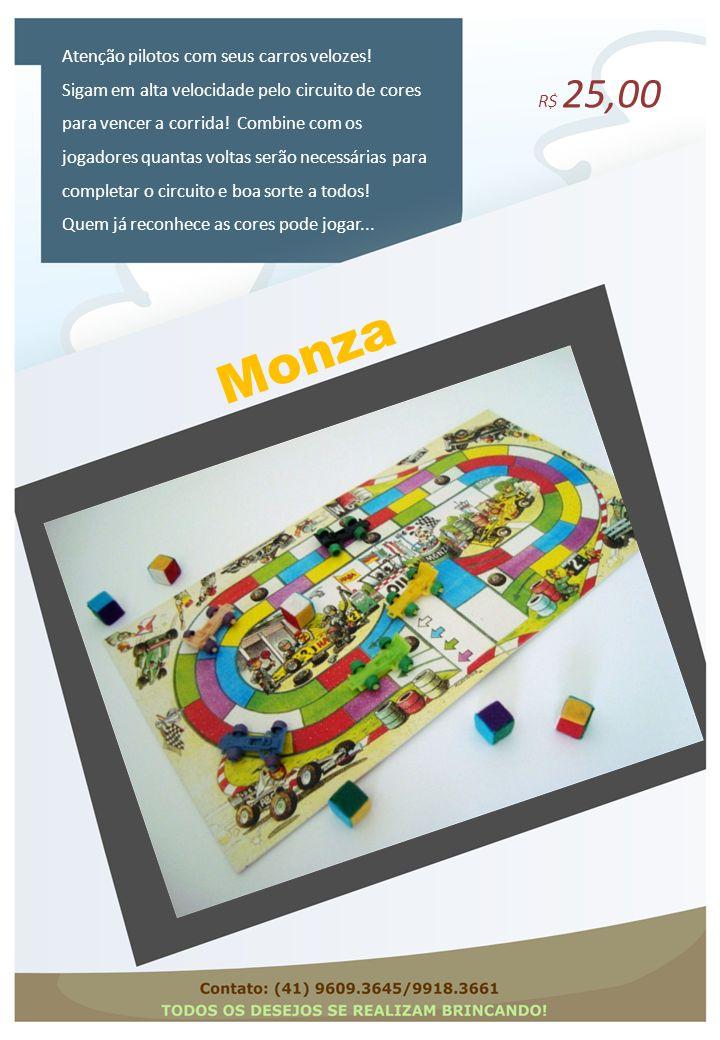 Monza Atenção pilotos com seus carros velozes!