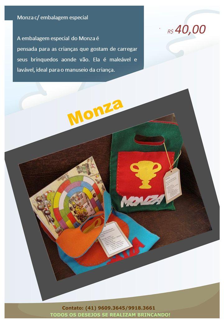 Monza Monza c/ embalagem especial R$ 40,00