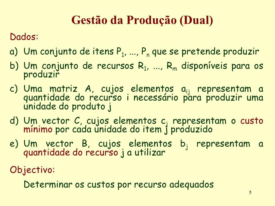 Gestão da Produção (Dual)