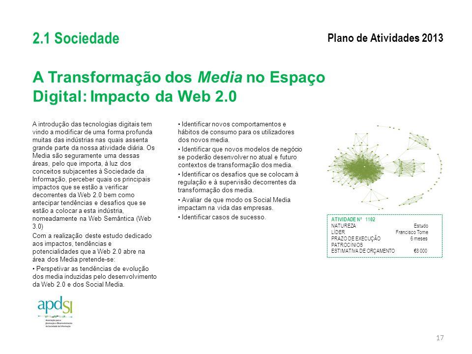A Transformação dos Media no Espaço Digital: Impacto da Web 2.0
