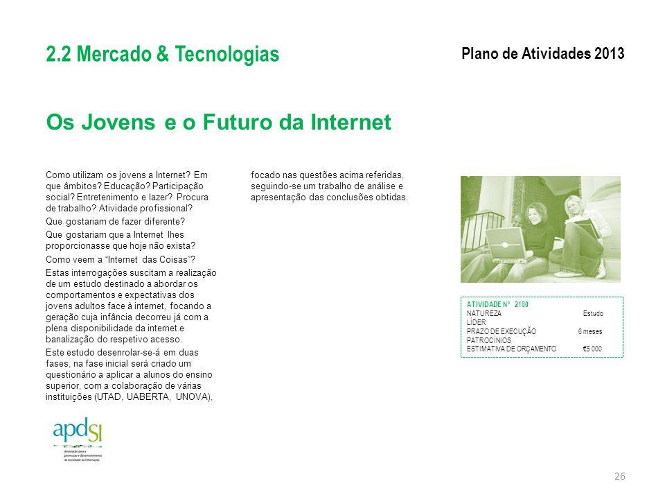 Os Jovens e o Futuro da Internet