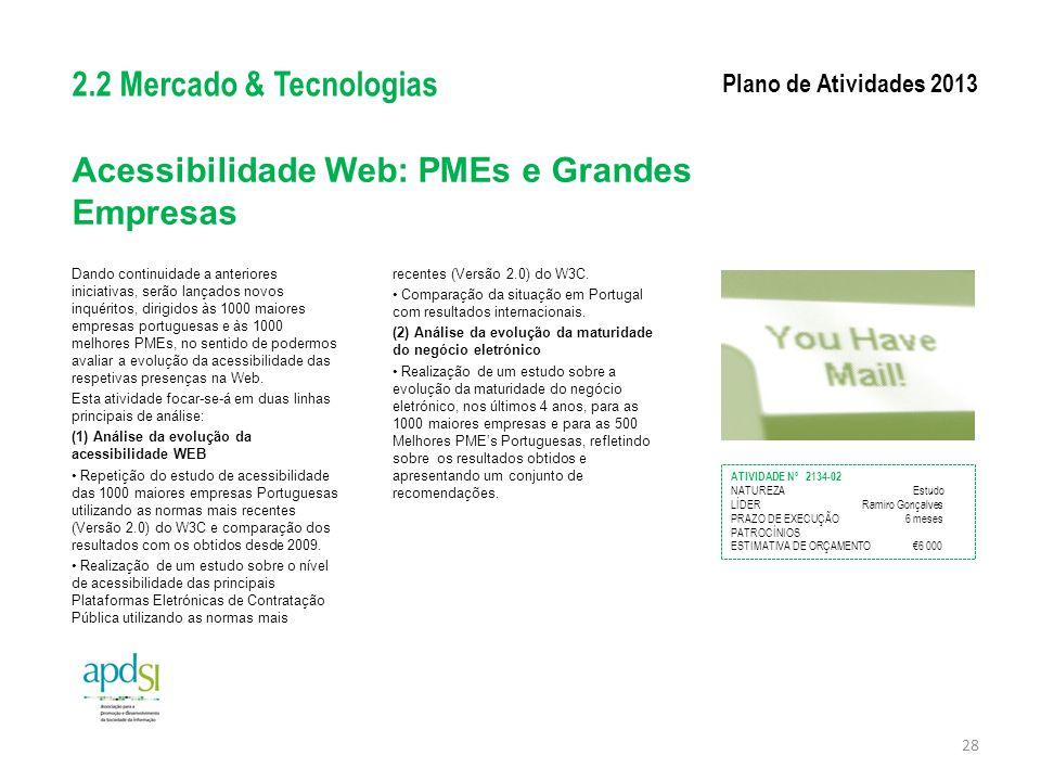 Acessibilidade Web: PMEs e Grandes Empresas
