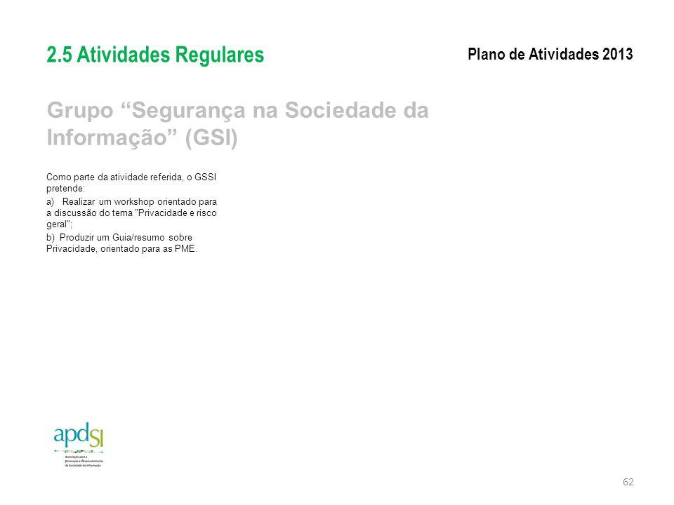 Grupo Segurança na Sociedade da Informação (GSI)