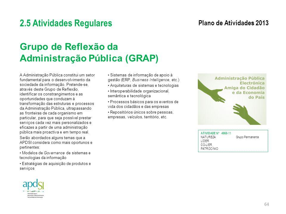Grupo de Reflexão da Administração Pública (GRAP)