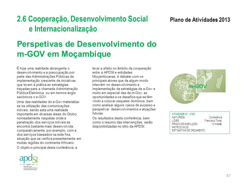 Perspetivas de Desenvolvimento do m-GOV em Moçambique