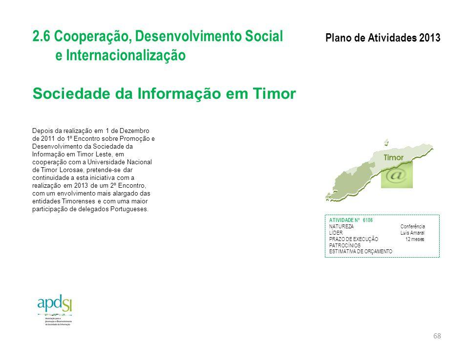 Sociedade da Informação em Timor