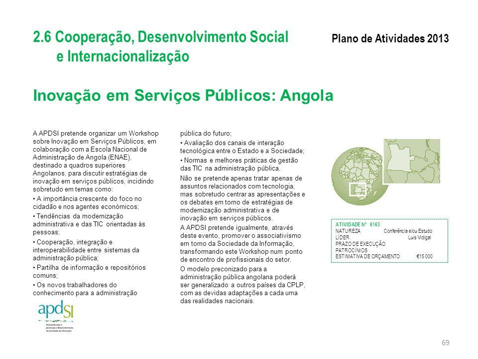 Inovação em Serviços Públicos: Angola