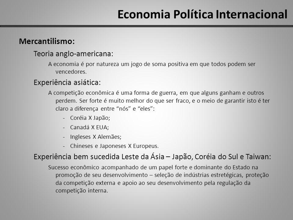 Economia Política Internacional