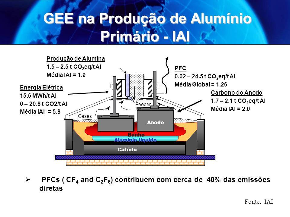 GEE na Produção de Alumínio Primário - IAI