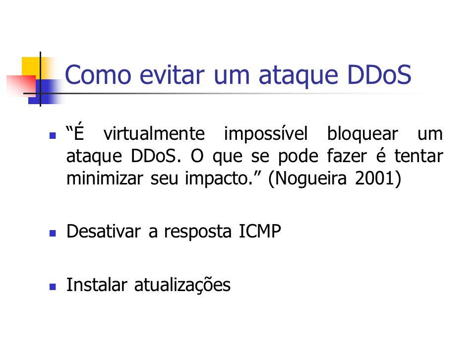 Como evitar um ataque DDoS