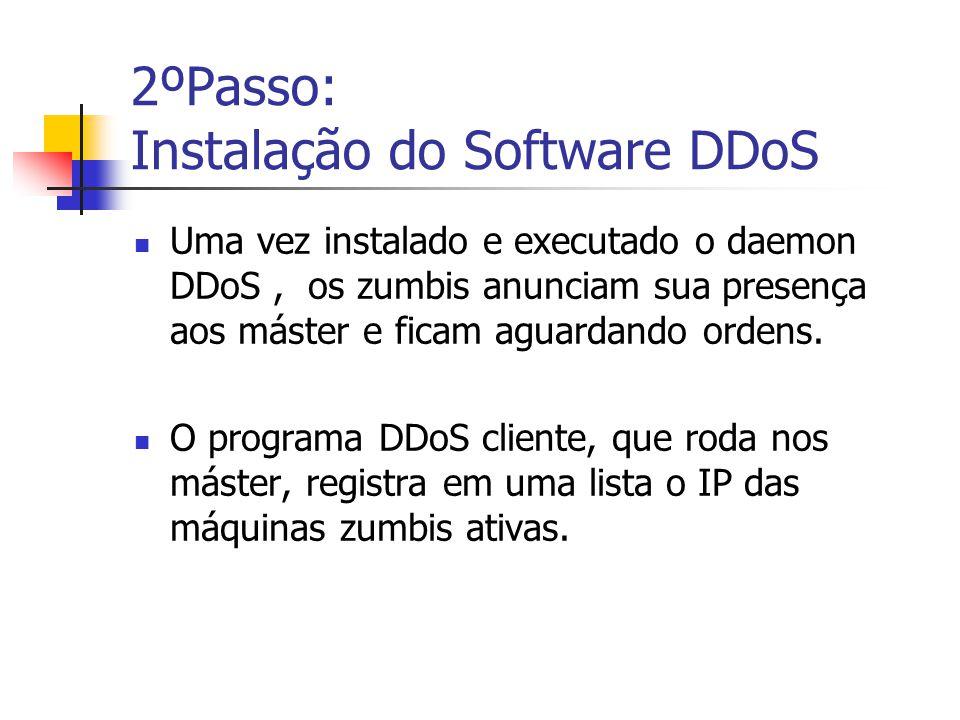 2ºPasso: Instalação do Software DDoS