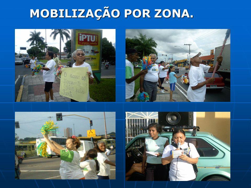 MOBILIZAÇÃO POR ZONA.