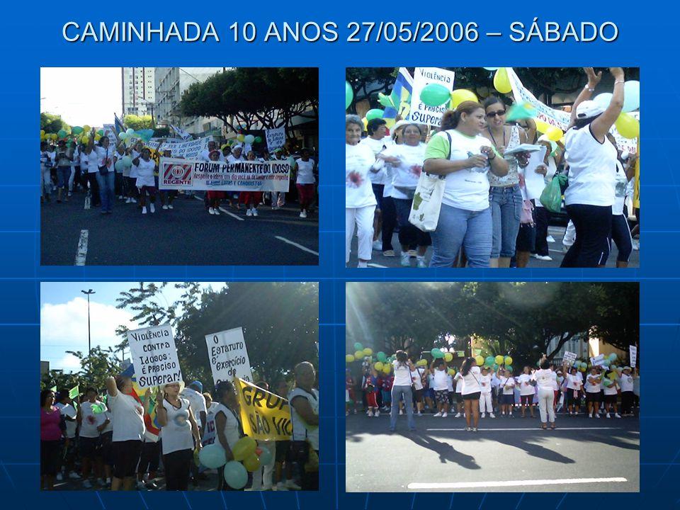 CAMINHADA 10 ANOS 27/05/2006 – SÁBADO