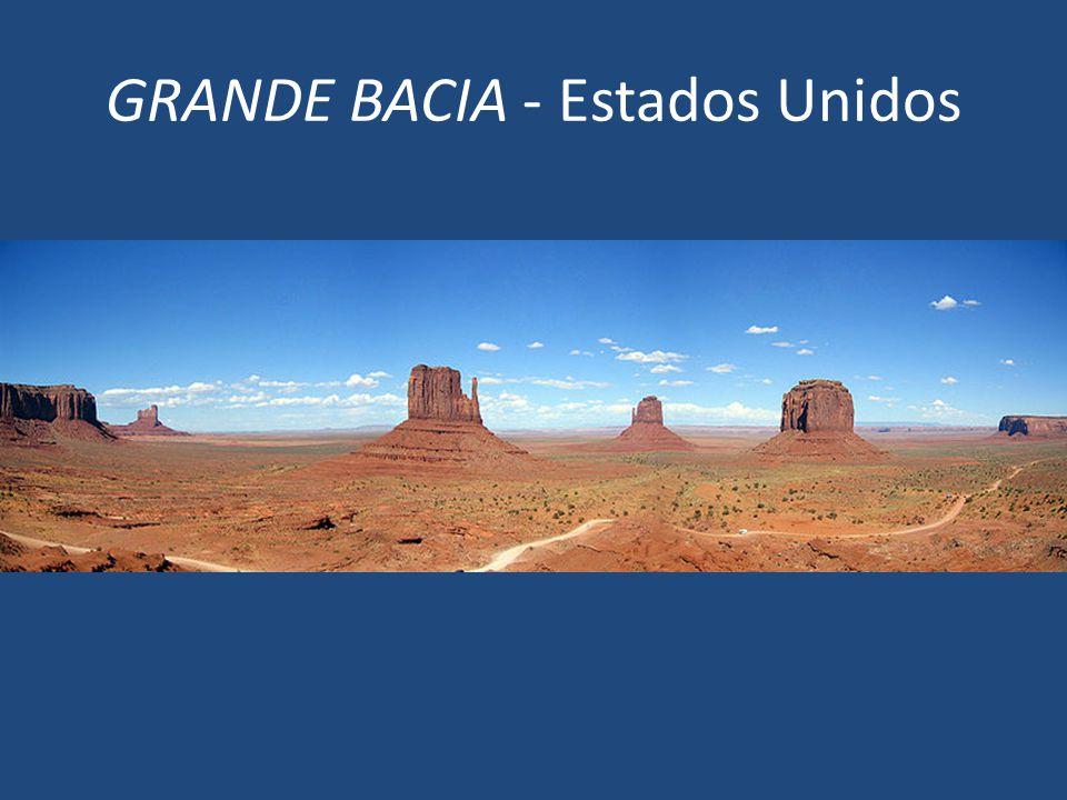 GRANDE BACIA - Estados Unidos