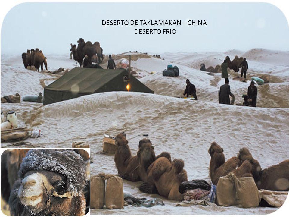 DESERTO DE TAKLAMAKAN – CHINA
