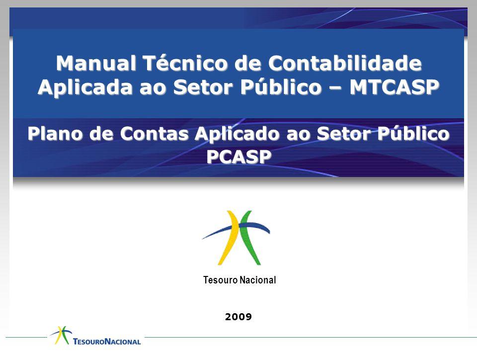 Manual Técnico de Contabilidade Aplicada ao Setor Público – MTCASP