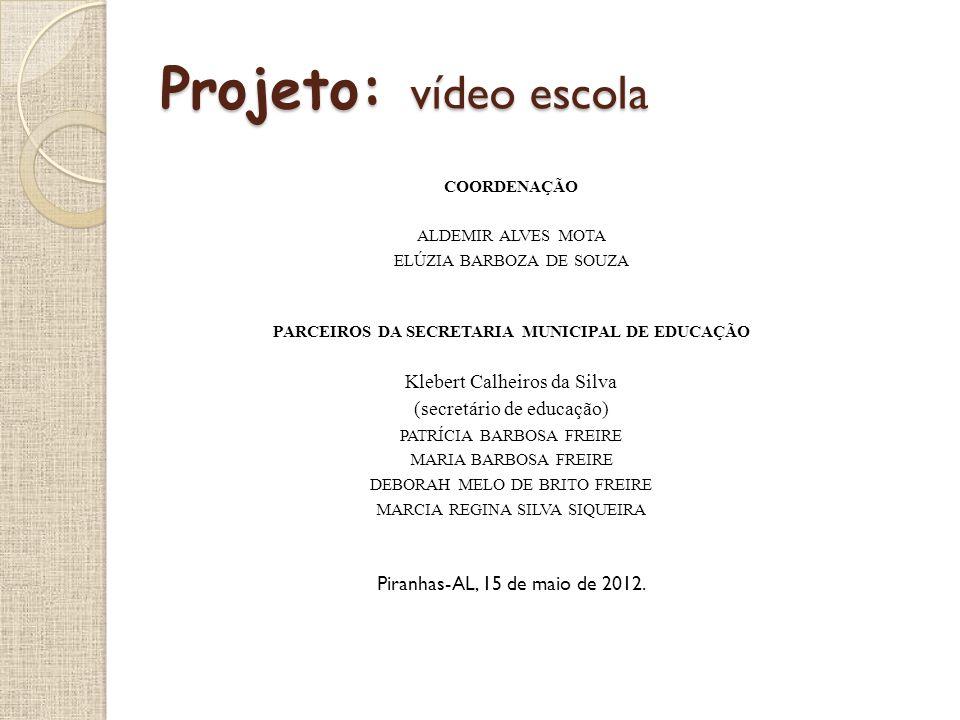 PARCEIROS DA SECRETARIA MUNICIPAL DE EDUCAÇÃO