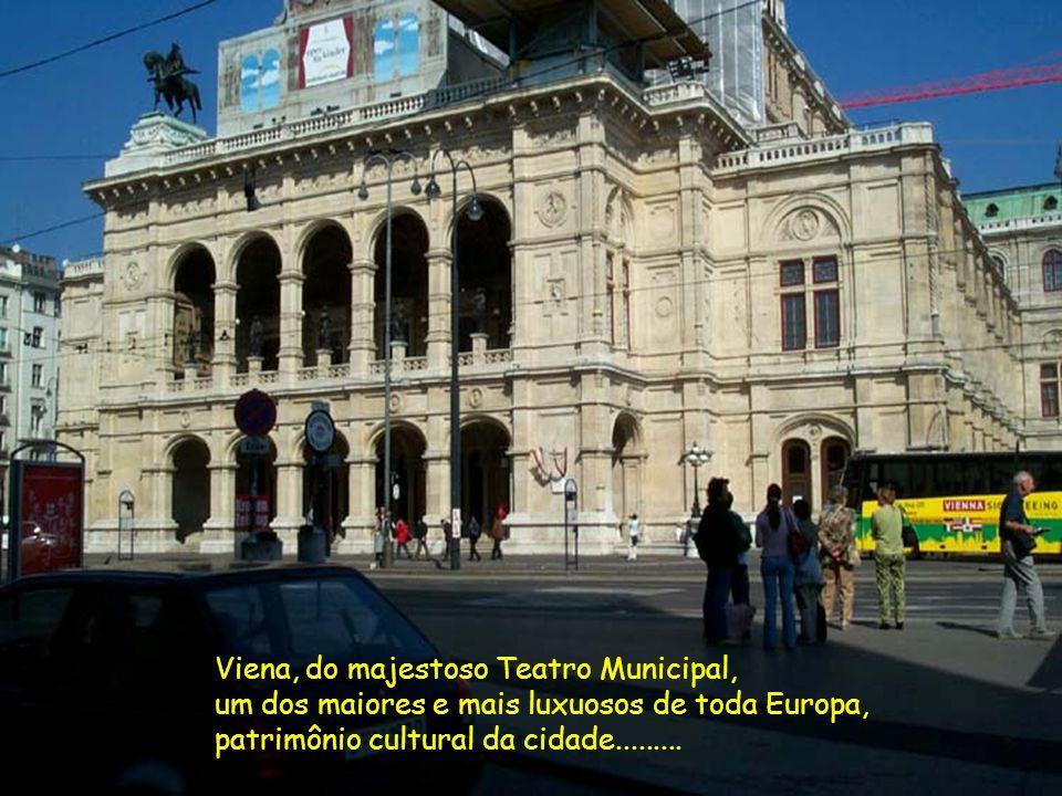 Viena, do majestoso Teatro Municipal,