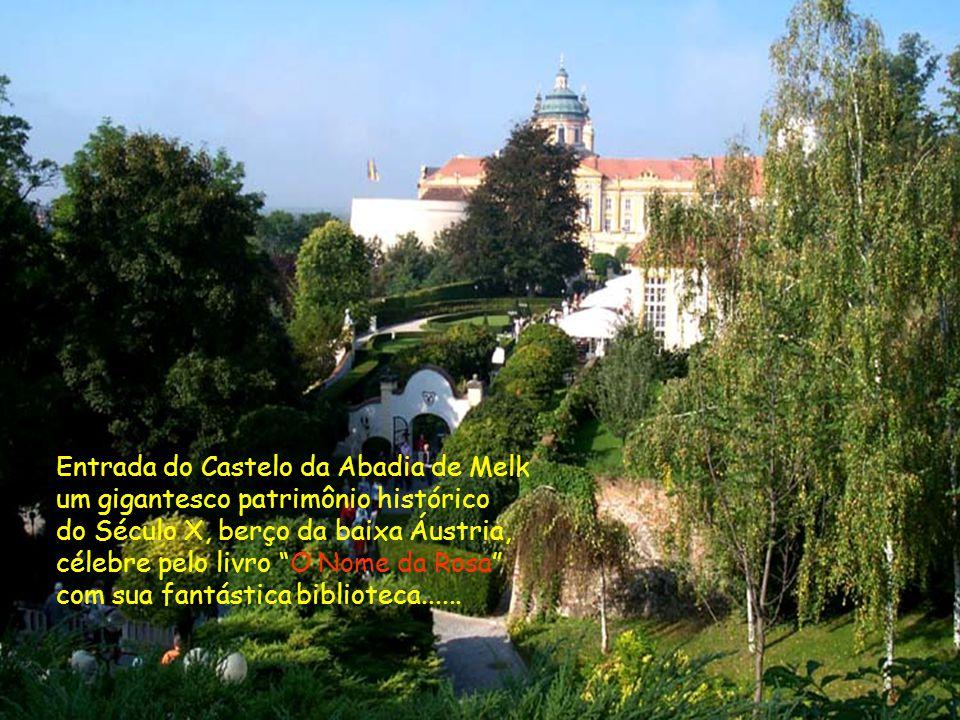 Entrada do Castelo da Abadia de Melk