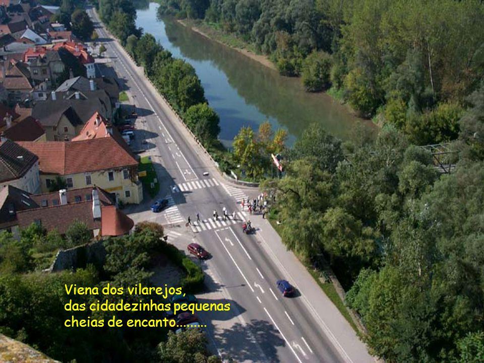 Viena dos vilarejos, das cidadezinhas pequenas cheias de encanto.........