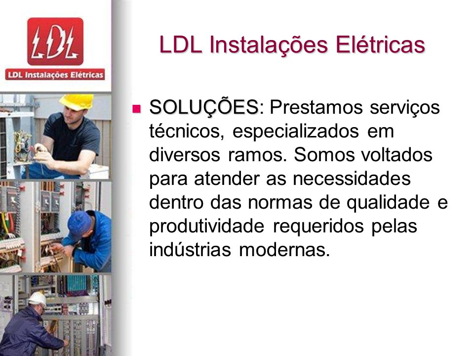 LDL Instalações Elétricas
