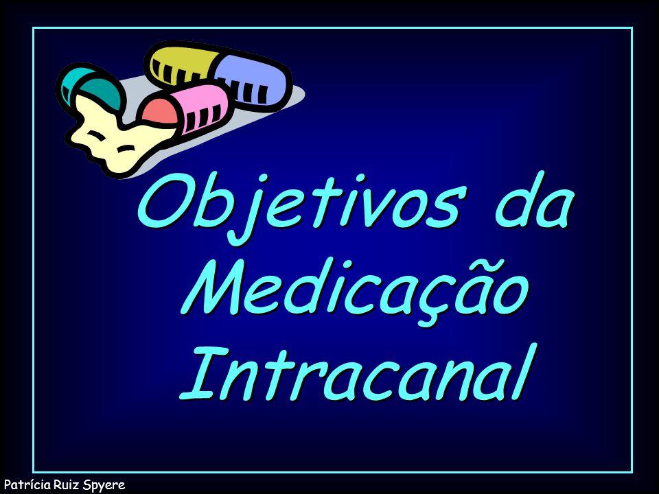 Objetivos da Medicação Intracanal Patrícia Ruiz Spyere