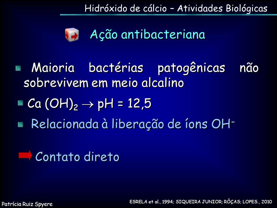 Hidróxido de cálcio – Atividades Biológicas