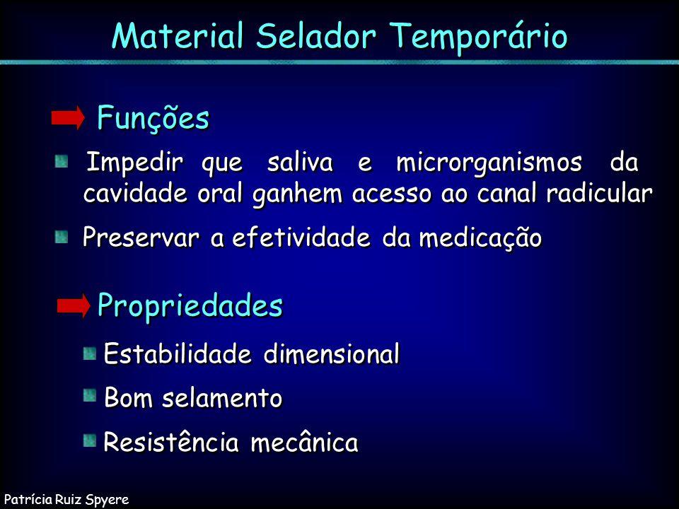 Material Selador Temporário