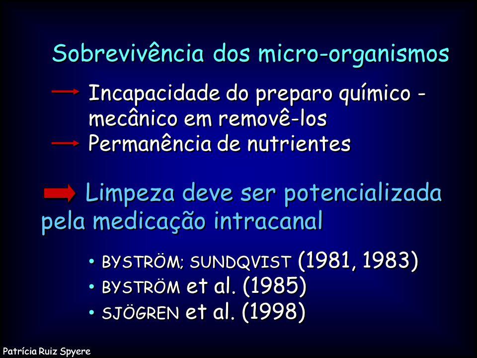Sobrevivência dos micro-organismos
