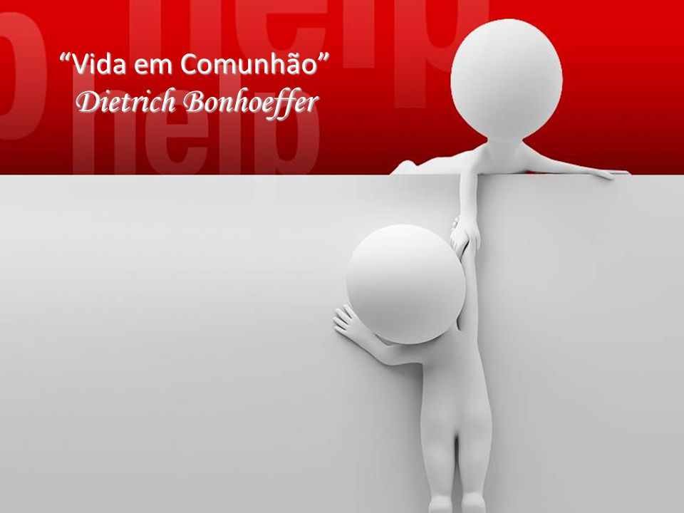 Vida em Comunhão Dietrich Bonhoeffer