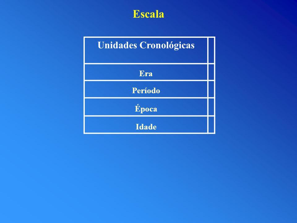 Unidades Cronológicas