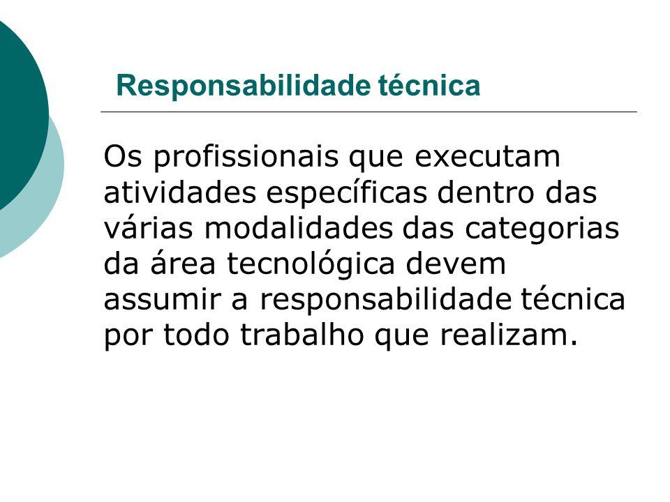 Responsabilidade técnica