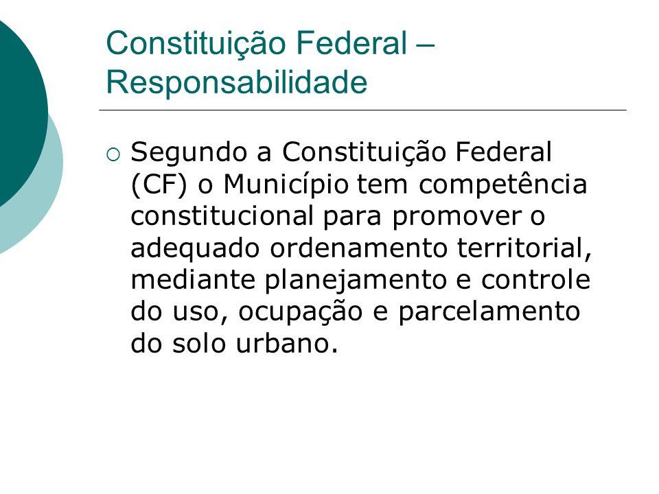 Constituição Federal – Responsabilidade