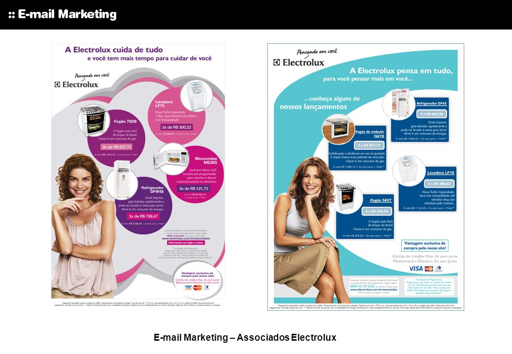 E-mail Marketing – Associados Electrolux