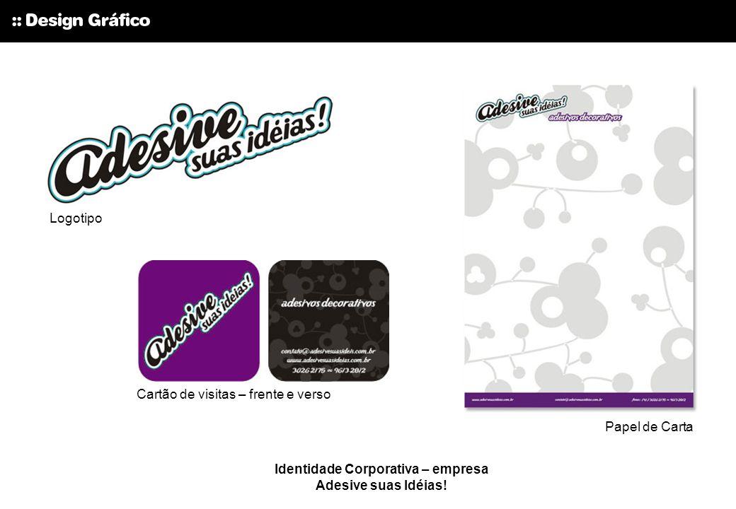 Identidade Corporativa – empresa Adesive suas Idéias!