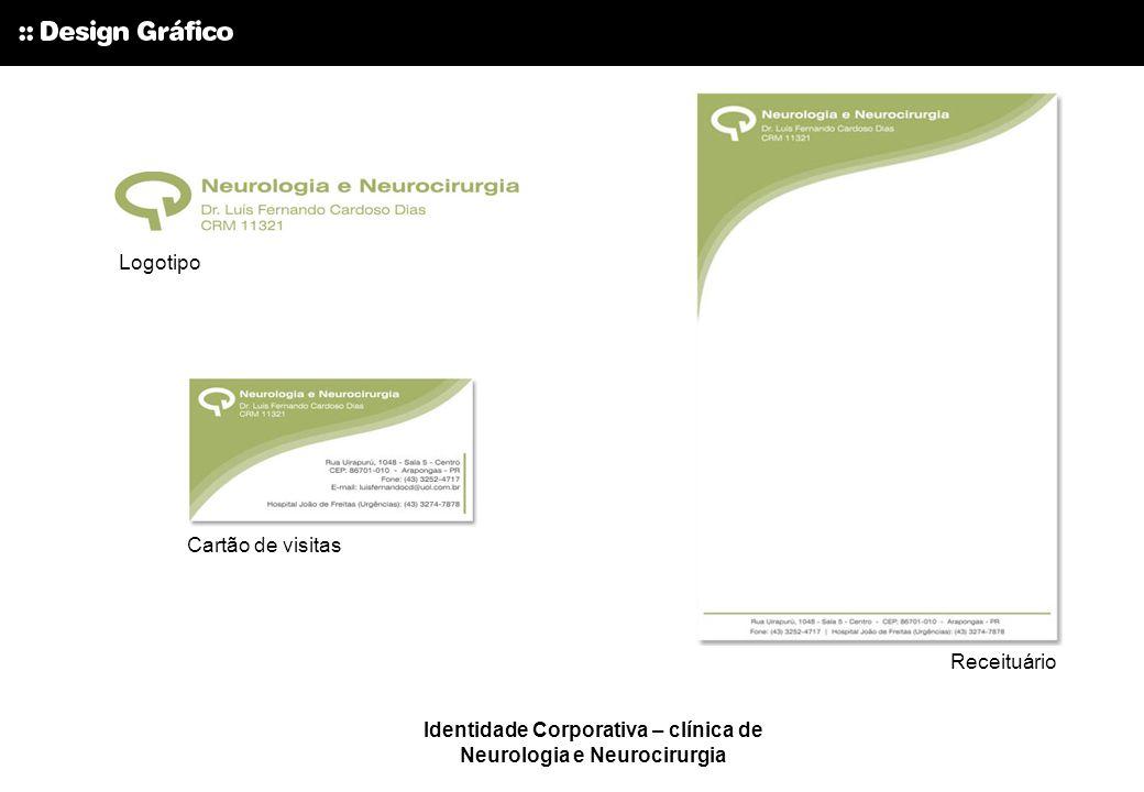 Identidade Corporativa – clínica de Neurologia e Neurocirurgia