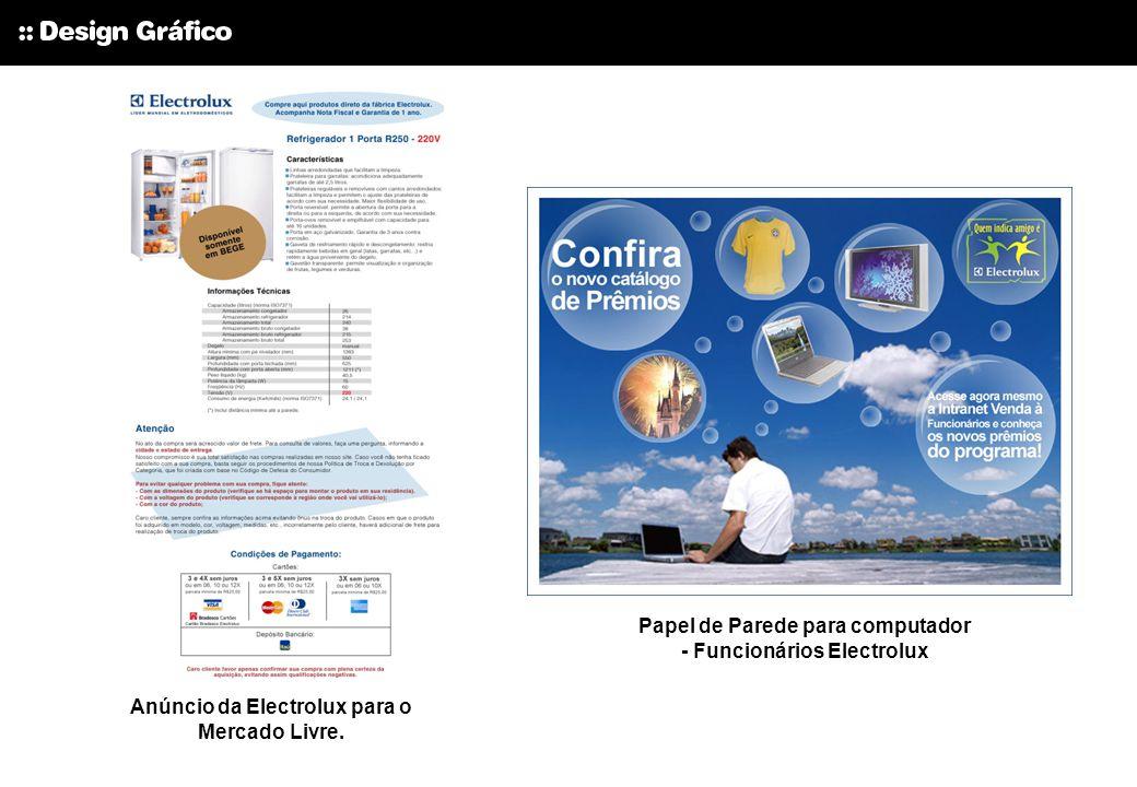 Papel de Parede para computador - Funcionários Electrolux